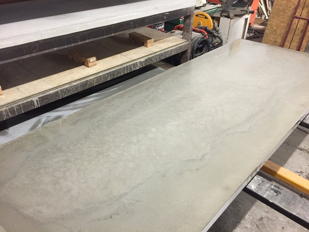 Marbled Concrete Slab
