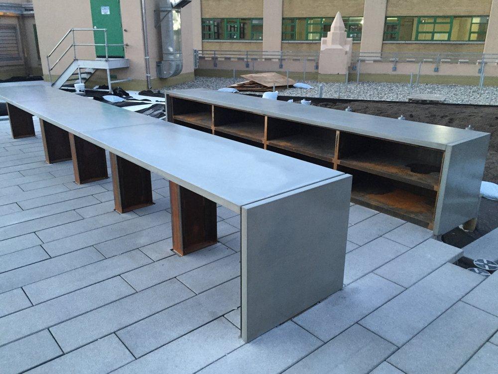 Rooftop Restaurant in Concrete