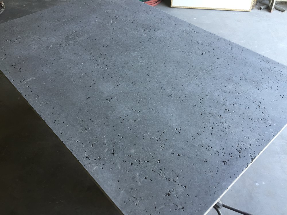 Dry Packed Slab