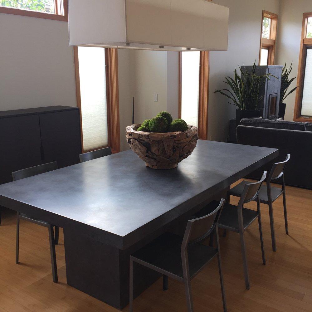 Plinth Dining Table