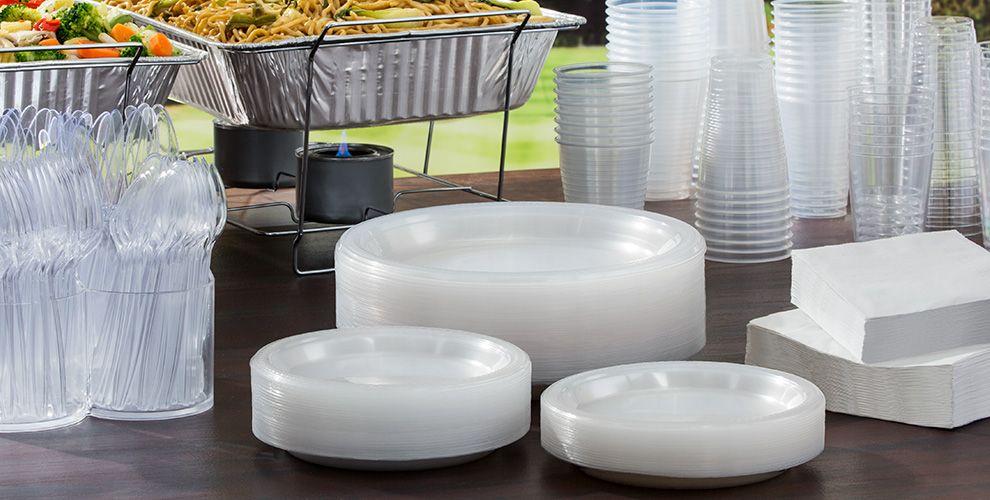 Clear Plastic Plates Glasses Cutlery And Napkins Port Aransas