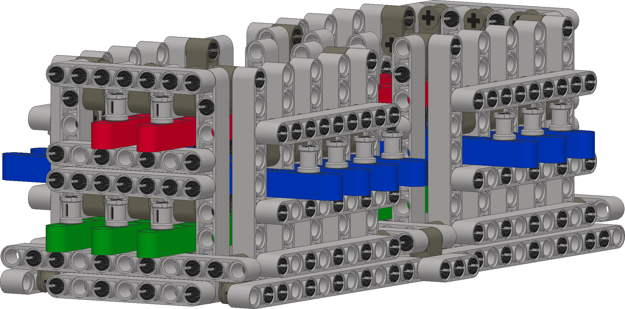 LEGO 1-bit full adder