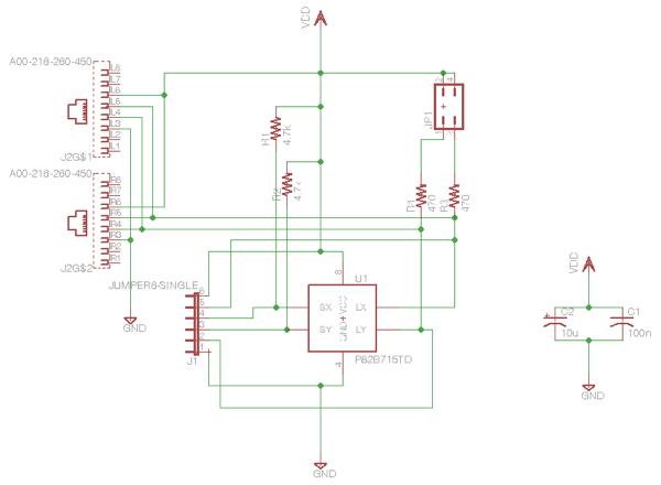 I2C breakout schematic