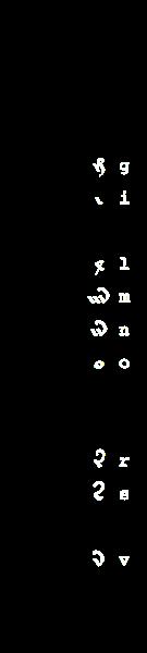 Voynich glyphs