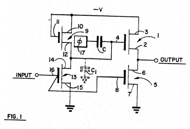 Figure 1 from patent US3480796.