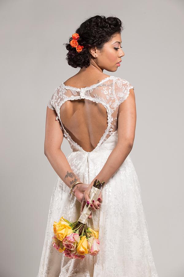 Fair Trade Wedding Dress By Celia Grace | Birds Of A Thread