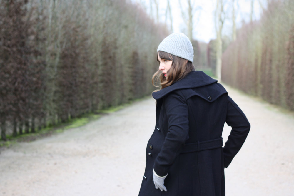 My winter coat has served me well, from east coast blizzards to the gardens of Versailles.