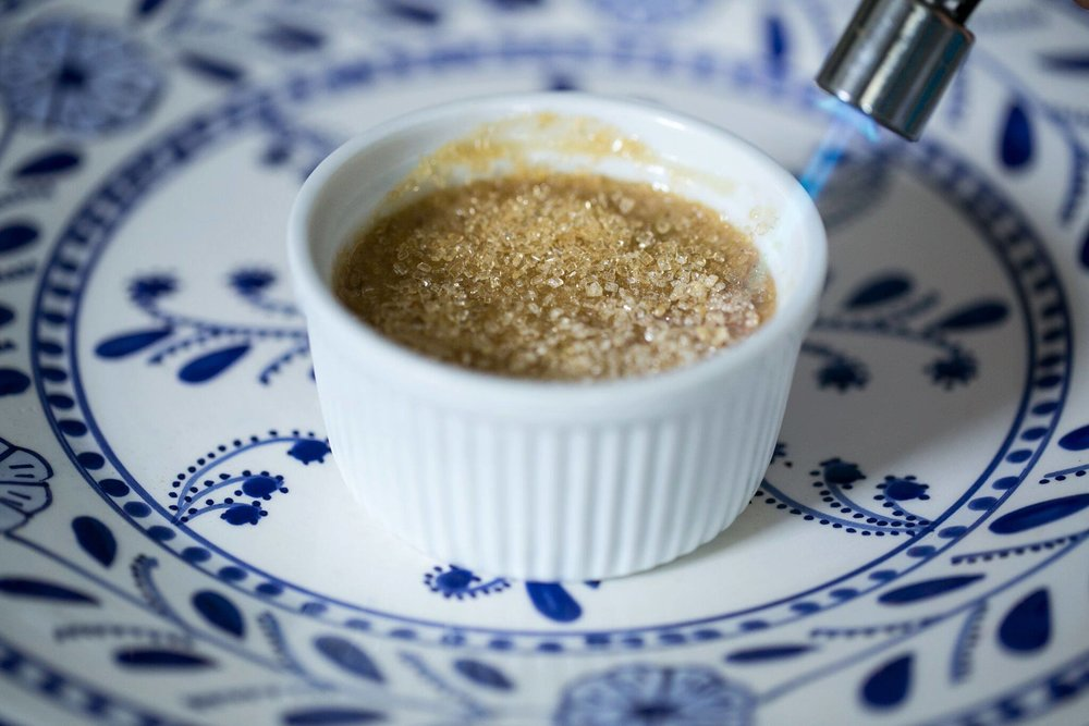 Sustainable cooking - dessert | Earl Grey creme brulee