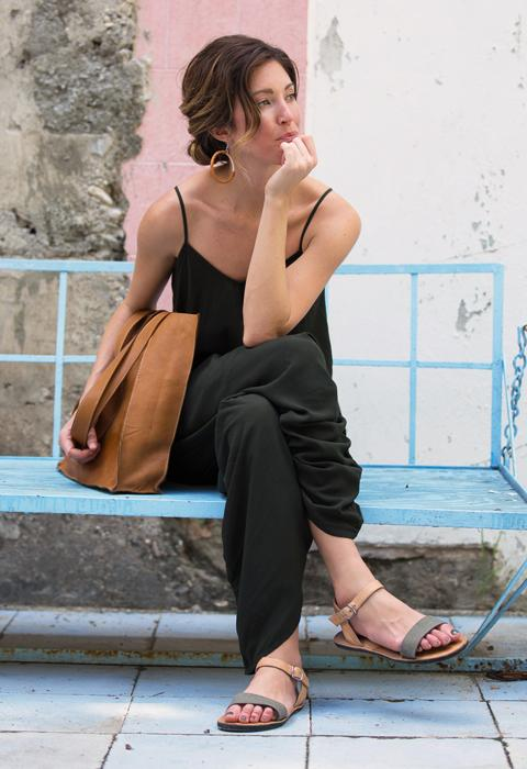 Review of Ethical, Upcycled Sandals Line Duex Mains