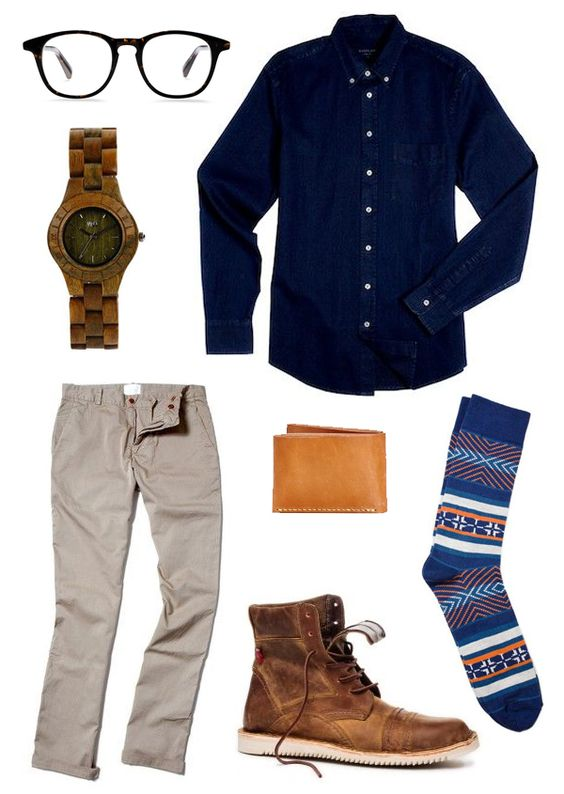 Ethical Men's Outift for Work
