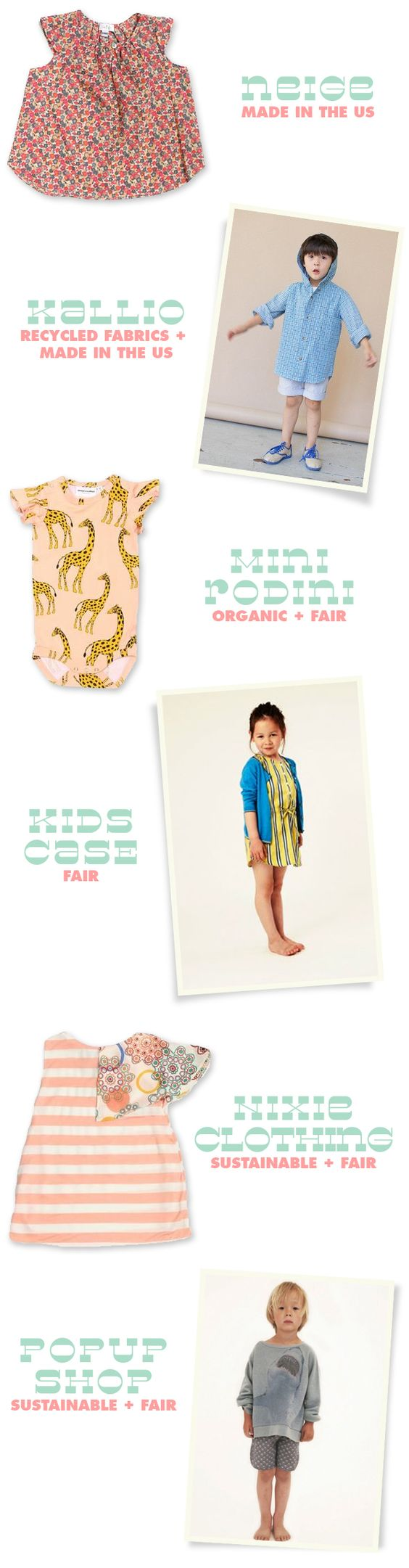 Ethical Kids Clothing - Where to Shop