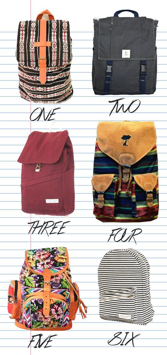 Fair Trade Backpacks