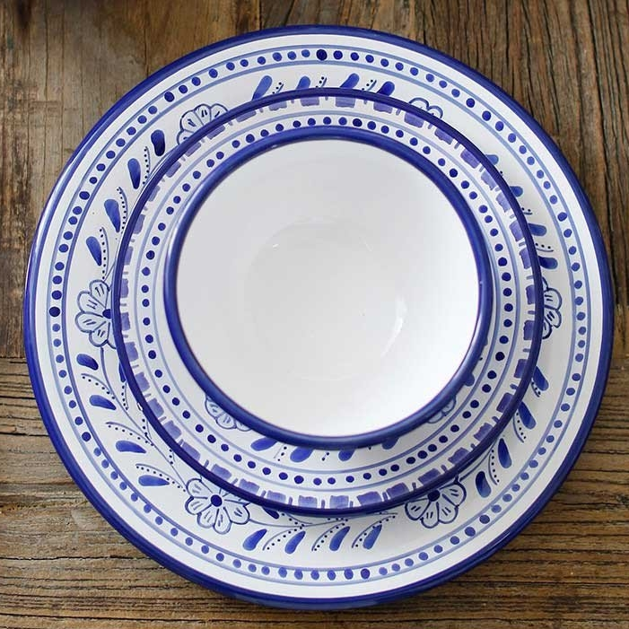 The Little Market Floral Dinner Plate