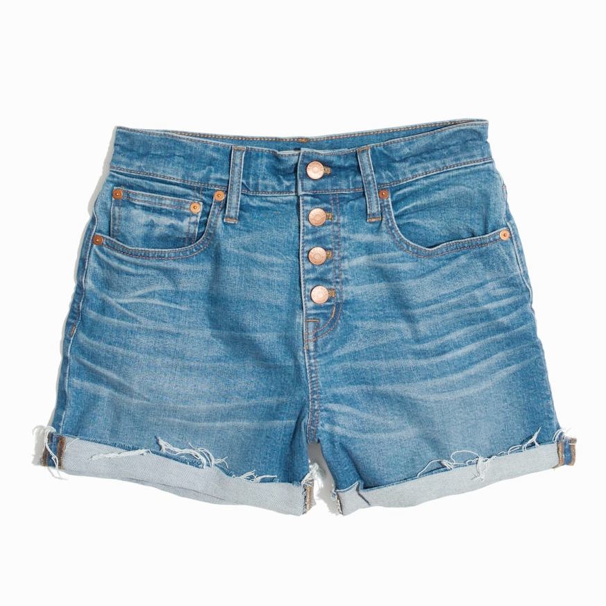 Madewell High-Rise Denim Shorts