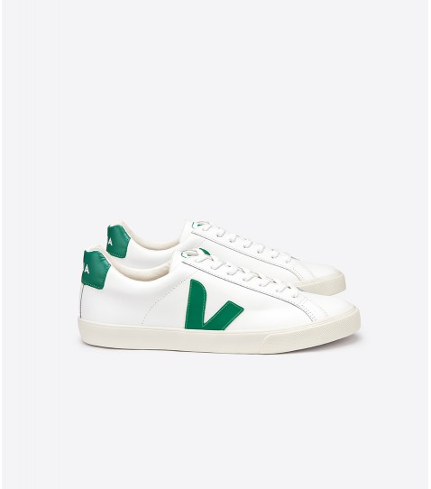 Esplar Leather Extra White Emeraude