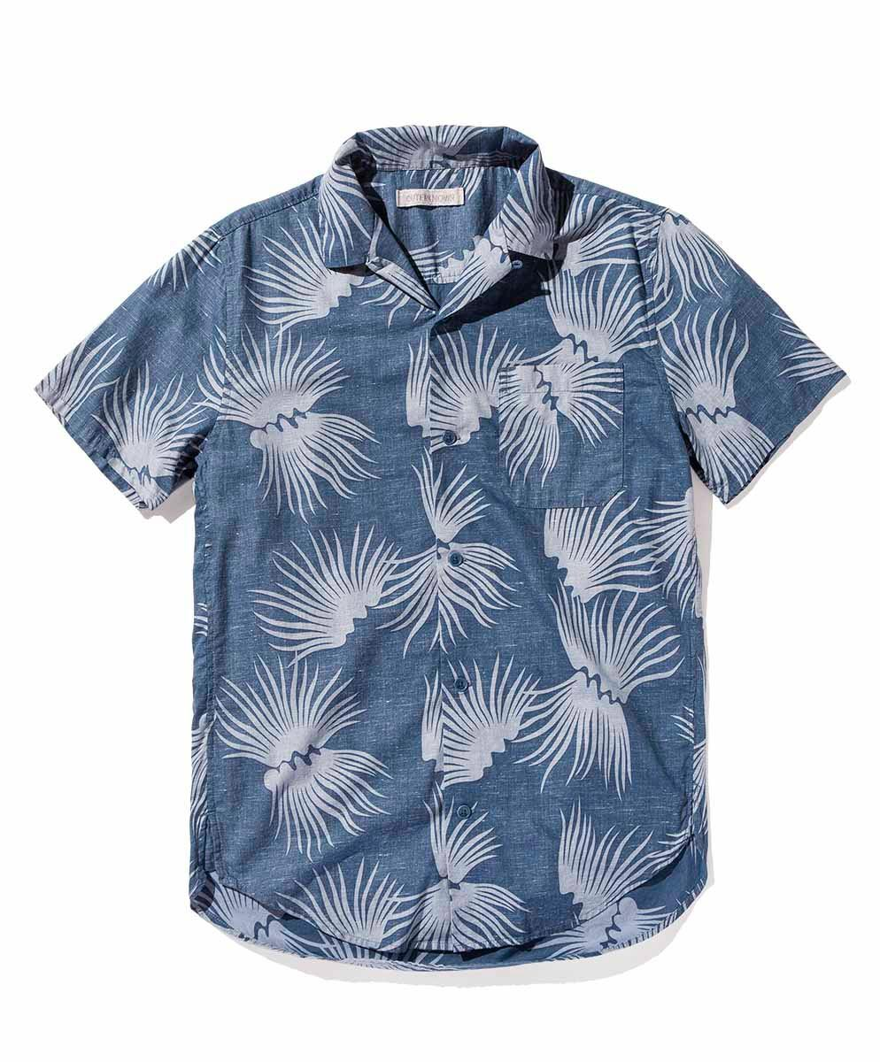 Outerknown BBQ Shirt - If you're an ethical fashion buff you've likely heard of Outknown, the sustainable mensware line founded by World Surf League champ Kelly Slater and designer John Moore. This BBQ shirt, made from 93% Organic Cotton and 7% Hemp, uses waaaay less water than its conventional counterparts. Its vintage print, modern cut, and corozo nut buttons make for major style – perfect for getting your grill on.