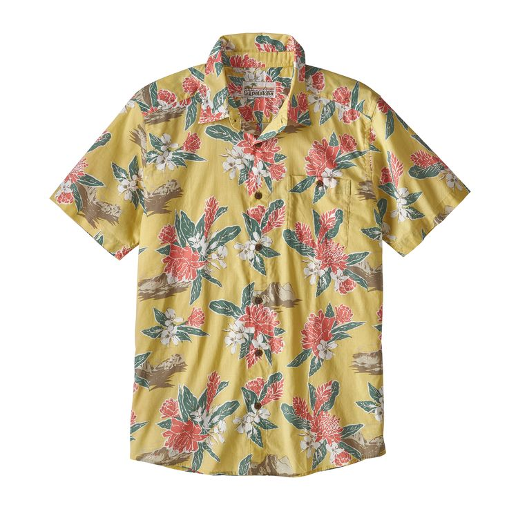 Patagonia Malihini Pataloha Shirt - This 100% organic cotton shirt nails on on transparency. In line with Patagonia's commitment to sustainability and fair labor practices, each step of this shirt's production is traceable on the product description and the company's Footprint Chronicles. Happy people, happy planet: now that's the aloha spirit.