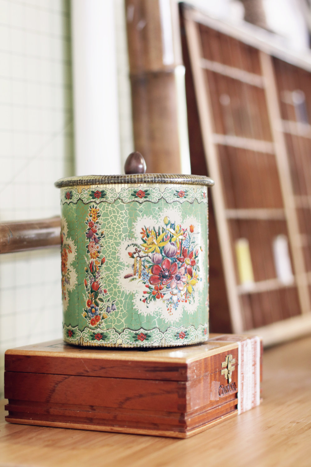 Sewing Room Tour | Vintage Sewing Tin