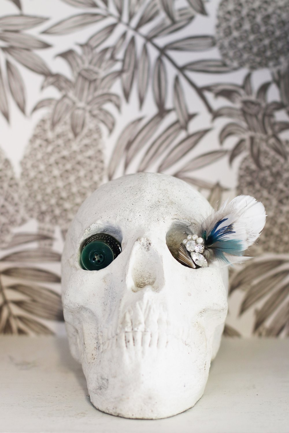 Sewing Room Tour | Plaster Skull