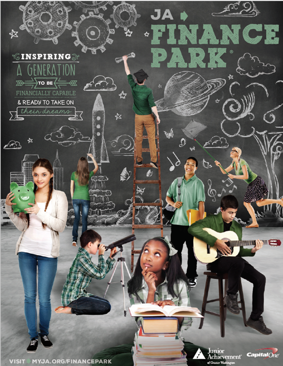 JA Finance Park Brochure Cover