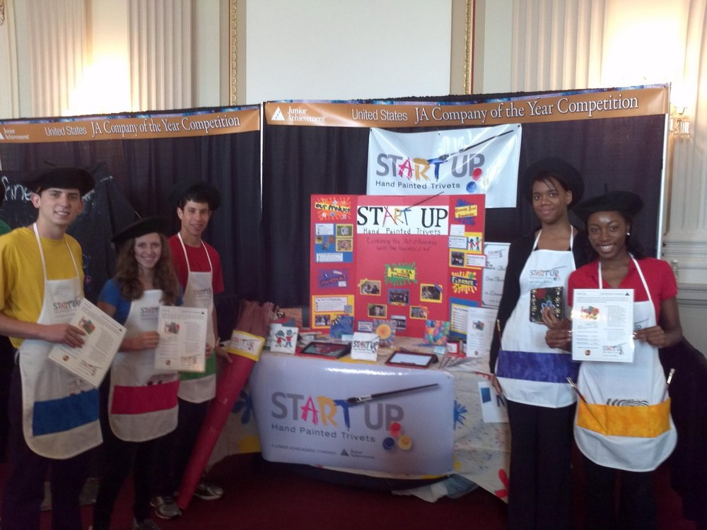 "Cohen's JA company ""Start-Up"" won first place in Georgia's regional competition and third place at the National Student Leadership Summit."