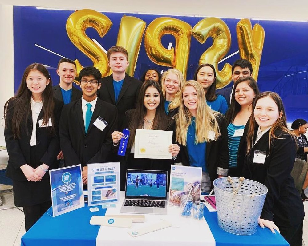 Sipsy, a business that sells non-toxic, re-usable straws to help eliminate plastic waste while raising awareness about the effects of plastic waste on marine life, received first place and the title of Company of the Year.