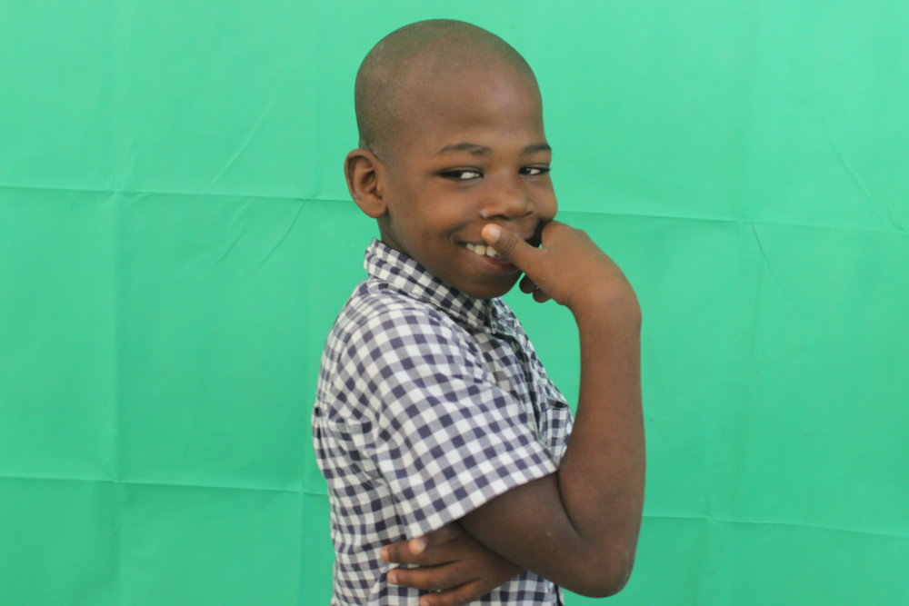 Stanley, Age 10 From Belecourt, Cite Soleil