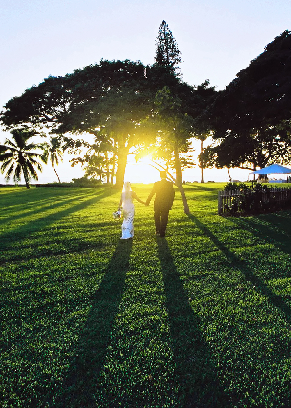 Beach Weddings Hawaii believes green weddings are the future.