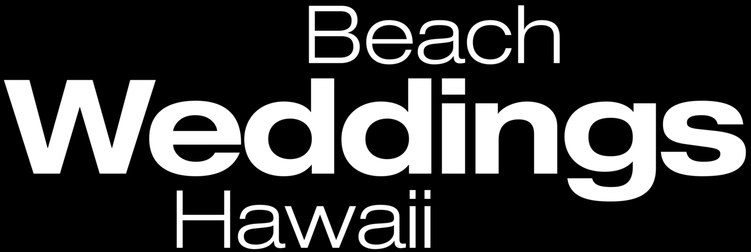 Beach Weddings Hawaii | Intimate Weddings on Secluded Beaches in Hawaii