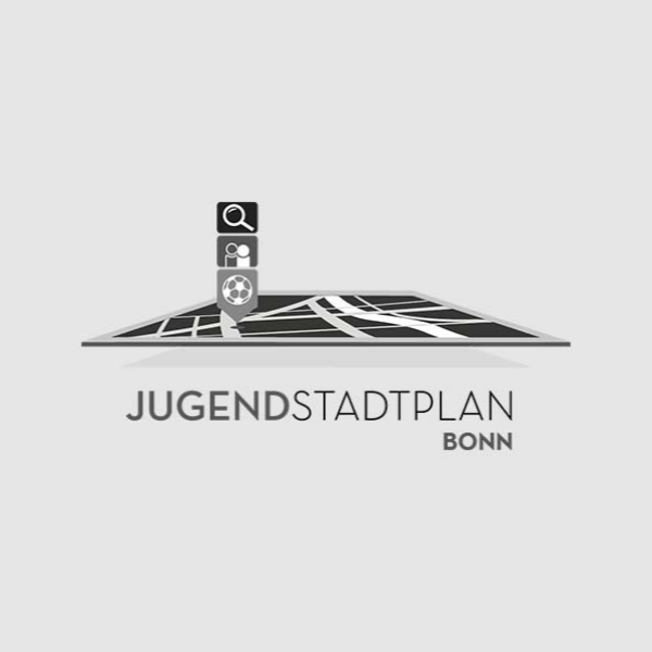 Public association:  JSP Bonn | Jugendstadtplan Work: Corporate Identity, Webdesign