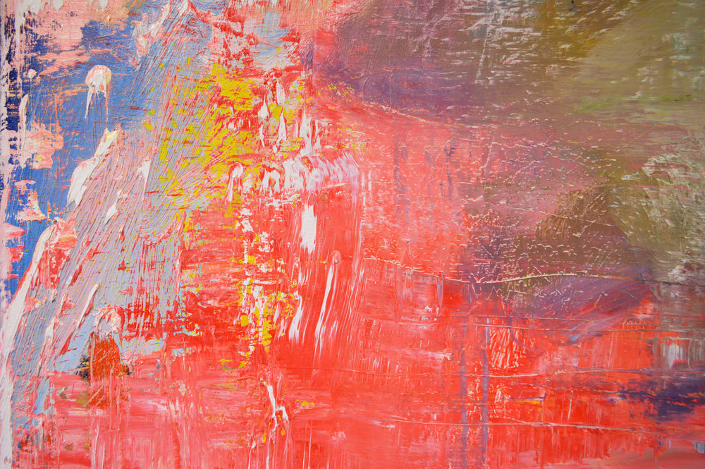 Robert West. Abstract Painting. No.76. Oil on Polyester. 200 X 200 cm. 2017_Close Up_05.jpg
