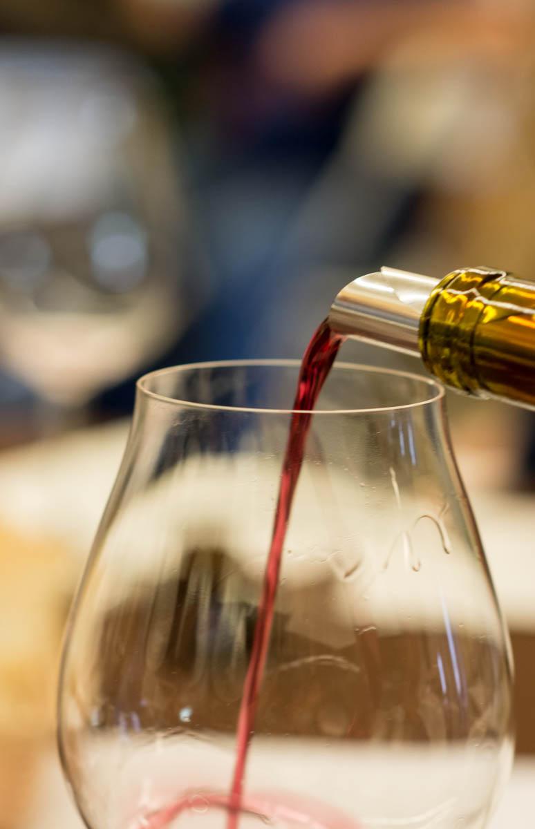 Wine tasting in Nashville at Woodland Wine Merchants