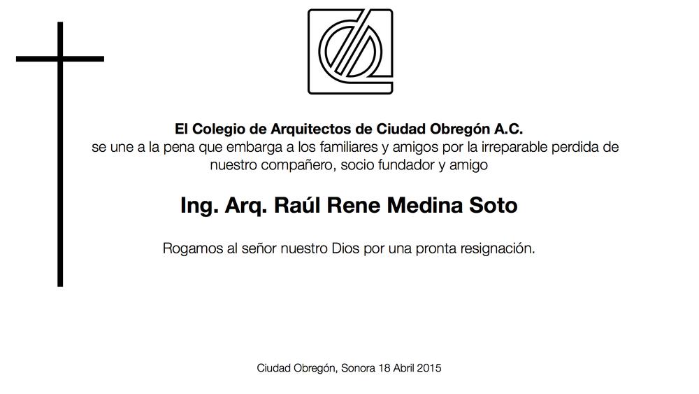 F Raul Medina