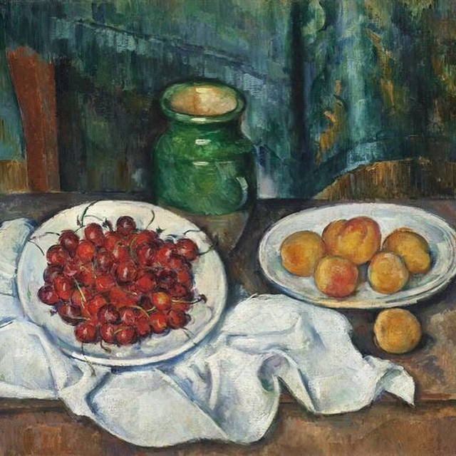 Celebrating Cézanne's 175th birthday on the blog today, an inspiration of mine. Link to my website in my bio.