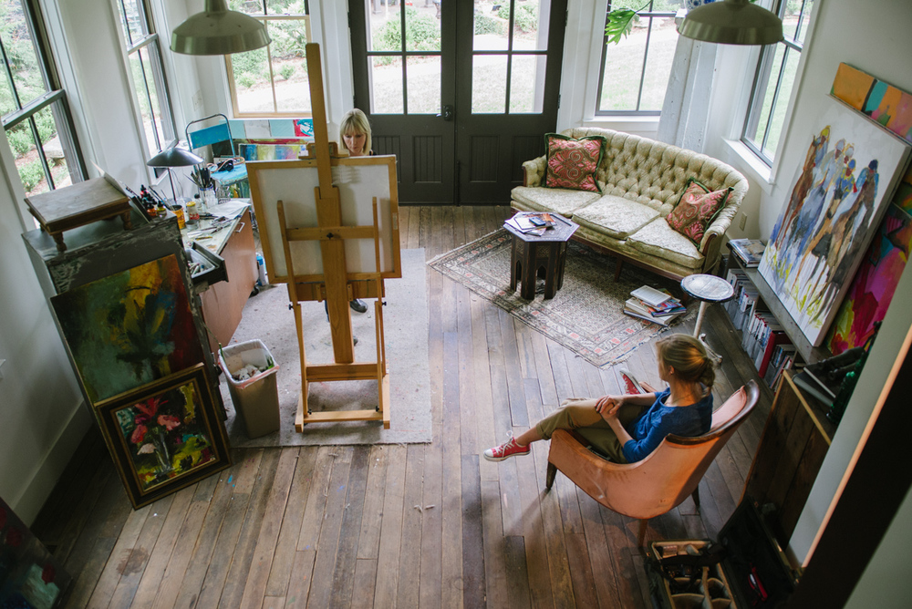 Birdseye of the Studio
