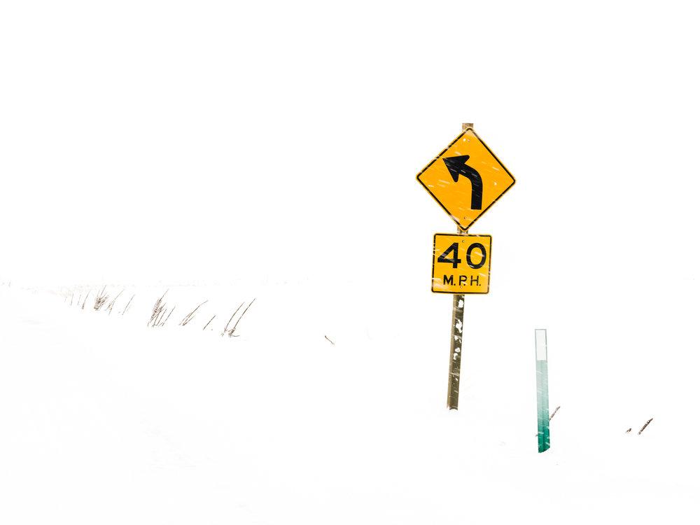 40 Left Turn