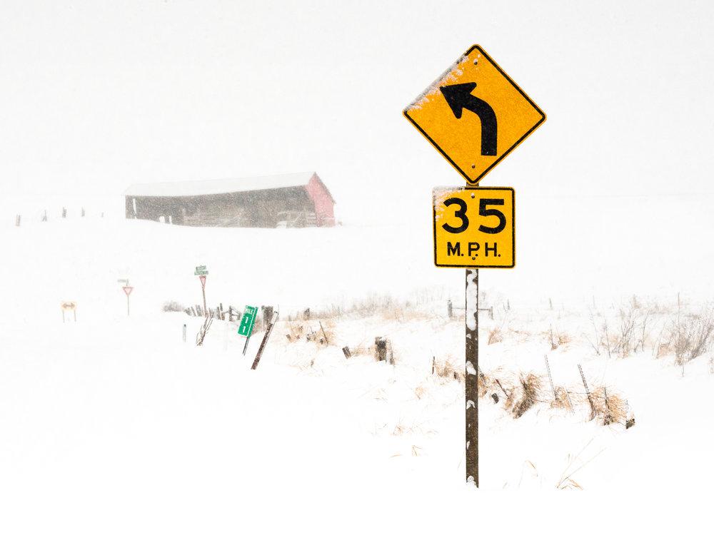 35 Left Turn