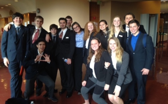 Mock Trial Team 2015-16