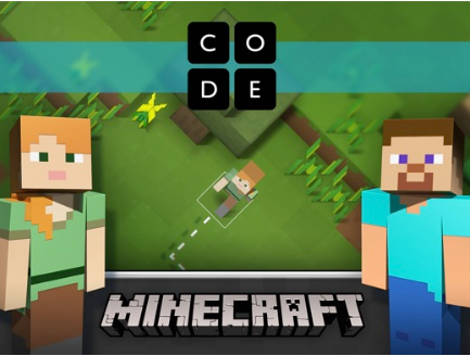 Explore the Minecraft world through code especially designed for the Hour of Code Celebration of National Computer Science Education Week.
