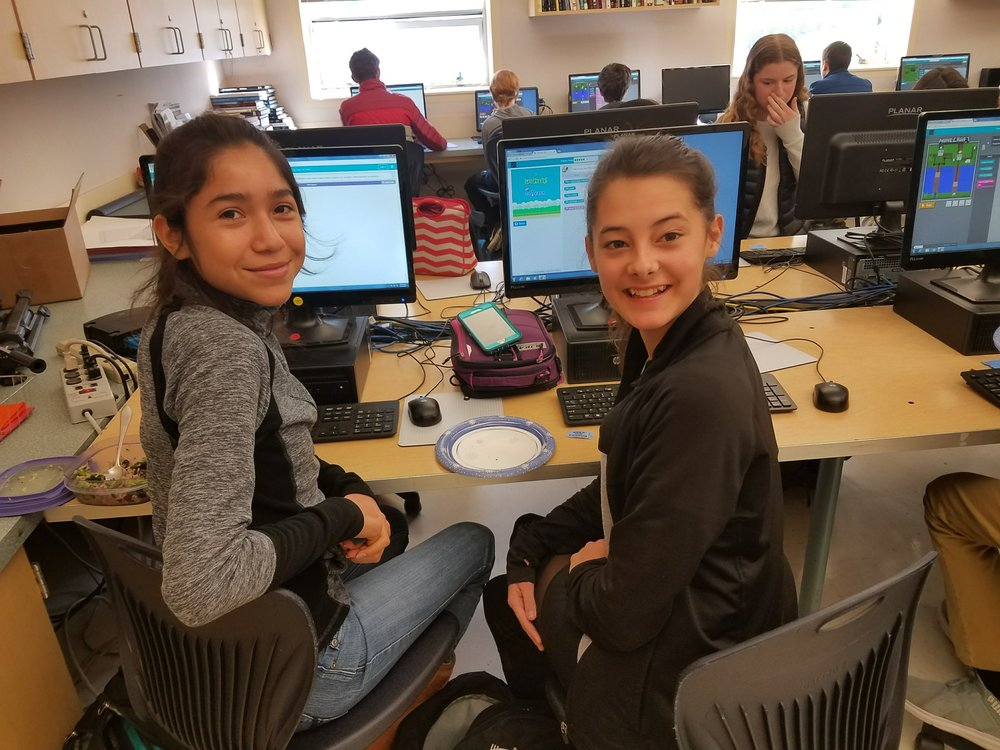 Go Hour of Code! Go Girls Who Code!