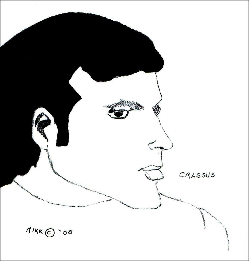 Crassus Ricky Chacon 1998 8-1/2 x 11 photo print $25