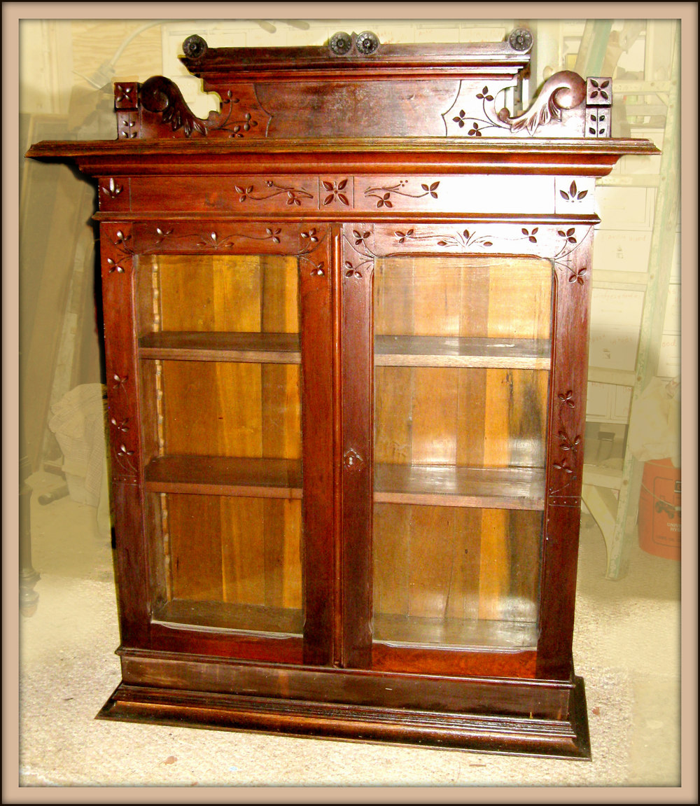Mick Vevera 2015 Ornate Bookcase $225/sold