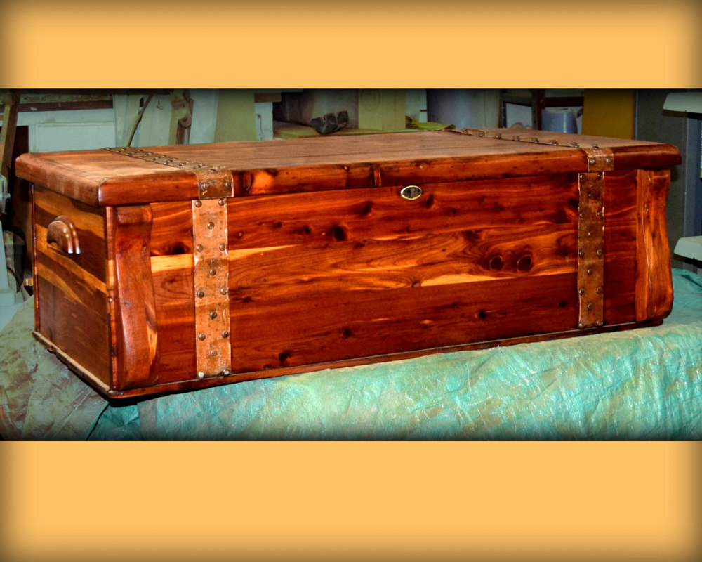 James Walsh 2015 Cedar Chest $100