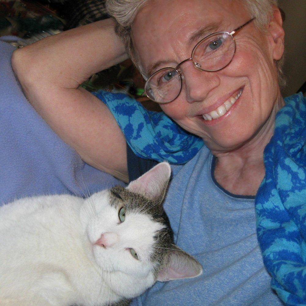Maggie Burns and Purr C. Cat
