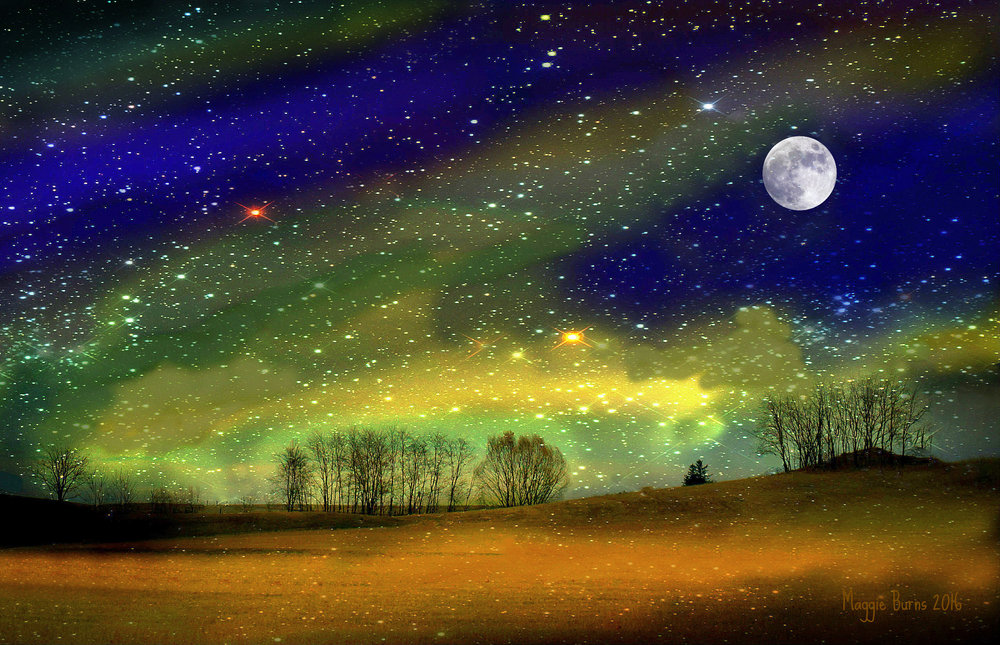 Starry Night Maggie Burns 2016 Edited Photo 11x17 $65, 13x19 $75
