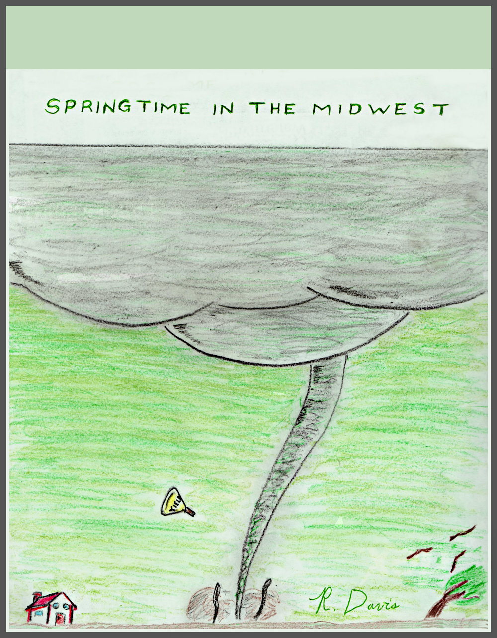 Springtime in the Midwest Ron Davis 2017 Pencil and marker on paper Print $20