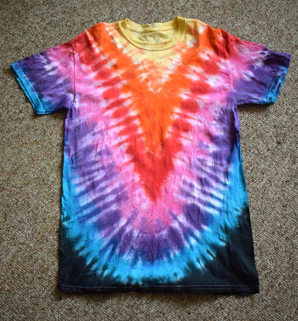 Tie Dye T-shirt John Colwell 2017 $30