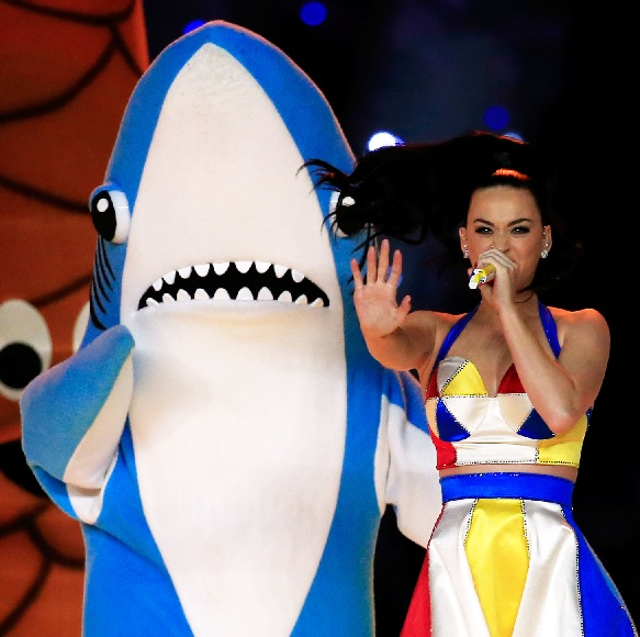 left shark and katy perry costume