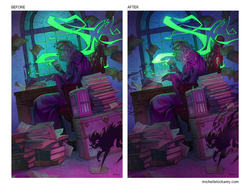 Lockamy_Wizard Before and After