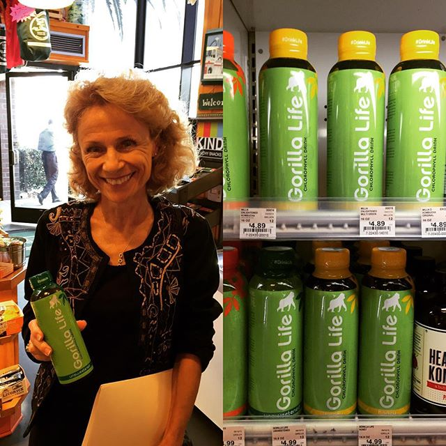 Replaced those Monday blues with some greens! Thanks Mrs Winston's had a great demo yesterday! We'll be there every Monday in October from 11-2. Hope to see you there and that we can give your Monday a lift with Gorilla Life. #ByeMondayBlues #ChlorophyllWater #chestpound #Greens #GreenDrink #GorillaLife #Chlorophyll #MrsWinstonsGreenGrocery